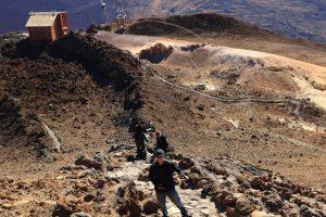 El Teide - výstup na vrchol