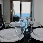 Dinning table ocean view