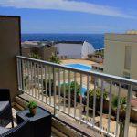 Punto I - terasa výhle na bazén