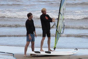 Lekce windsurfing Vojta