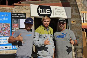 Lekce windsurfing Tomáš a Adam