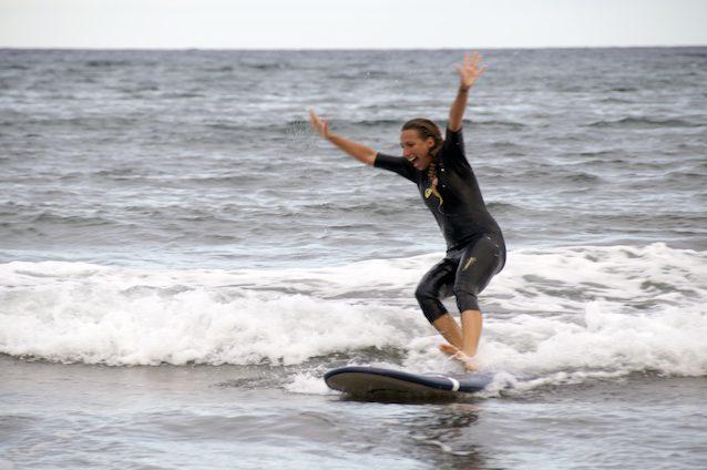 Lucka na surfu